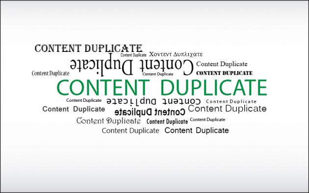 Content Duplicate
