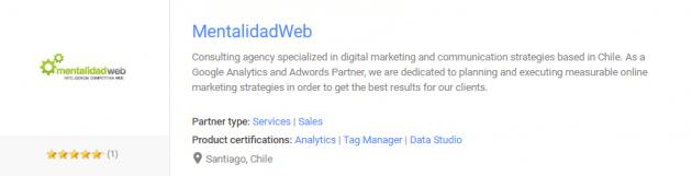 Certificación Mentalidad Web